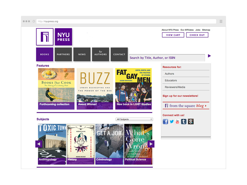 Point Five NYU Press website