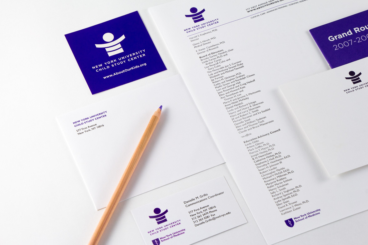 Point Five NYU Child Study Center identity