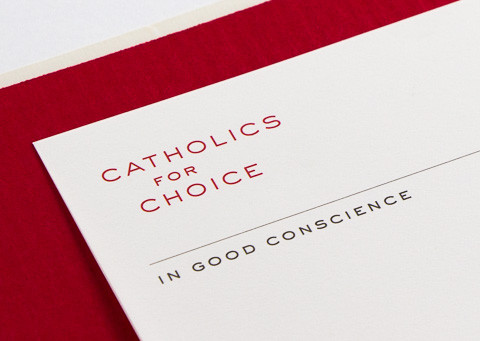 Catholics for Choice stationery