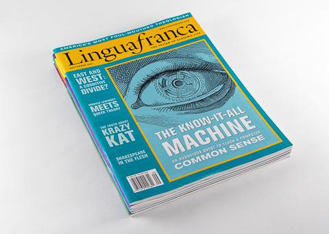 Point Five Lingua franca magazine cover