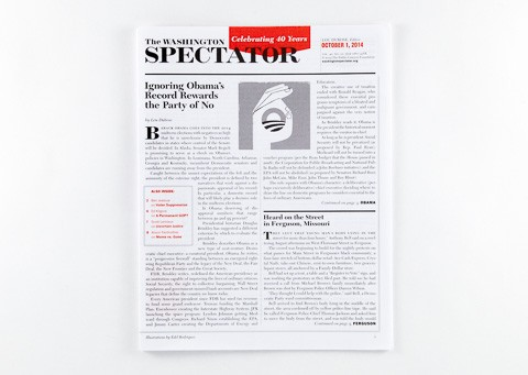 The Washington Spectator cover