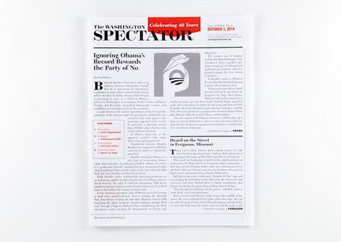 The Washington Spectator cover