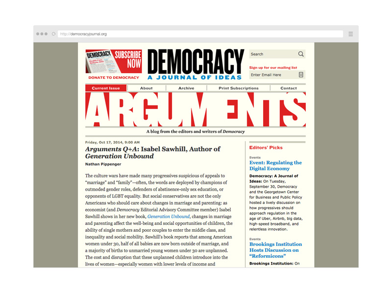 Point Five Democracy website