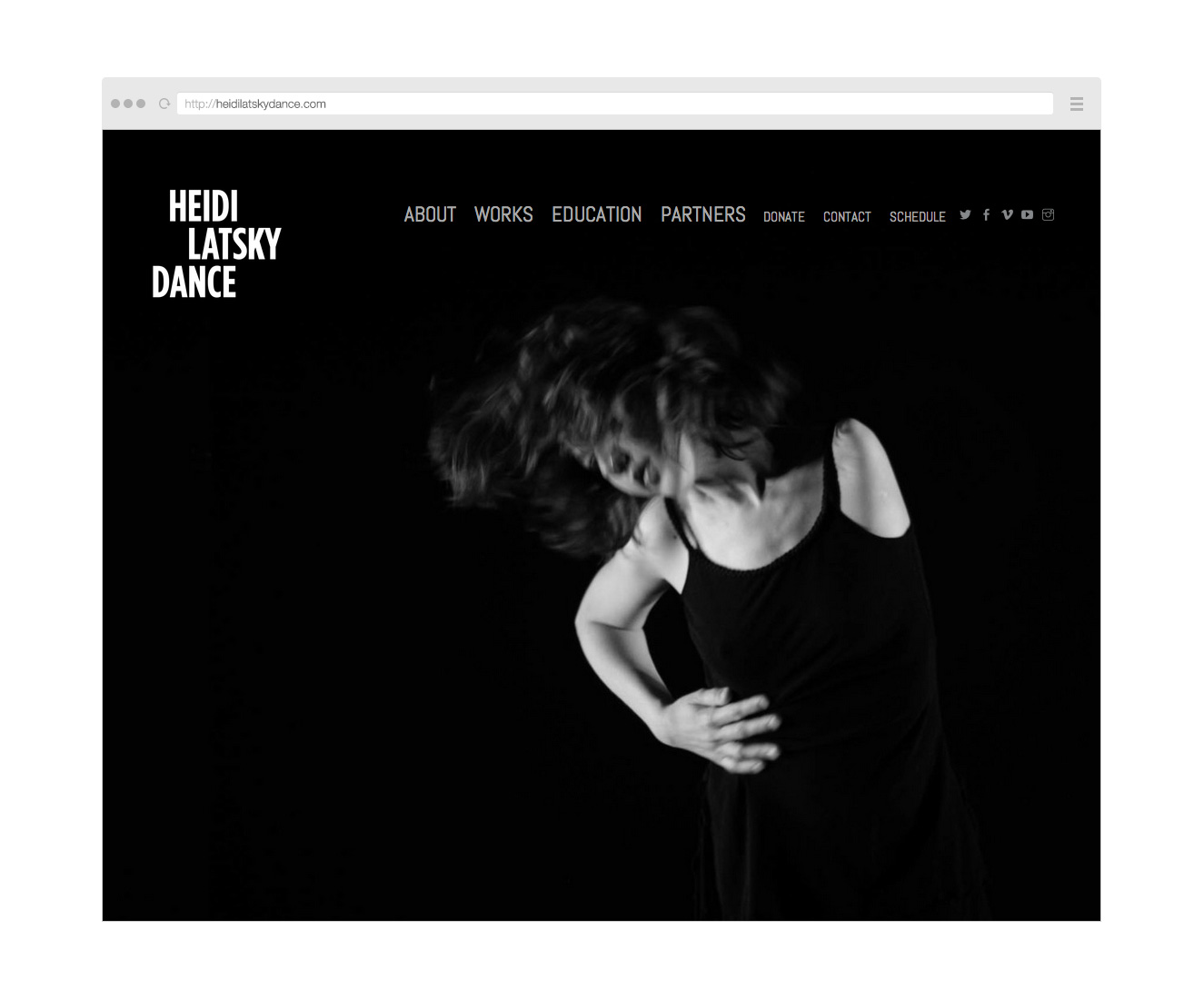 Point Five Heidi Latsky Dance website