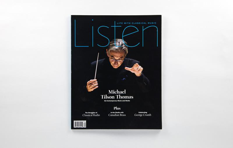 Point Five Listen Magazine cover