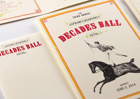 Lapham's Quarterly Decades Ball 1870s