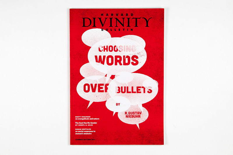 Point Five Harvard Divinity Bulletin cover Heads of State