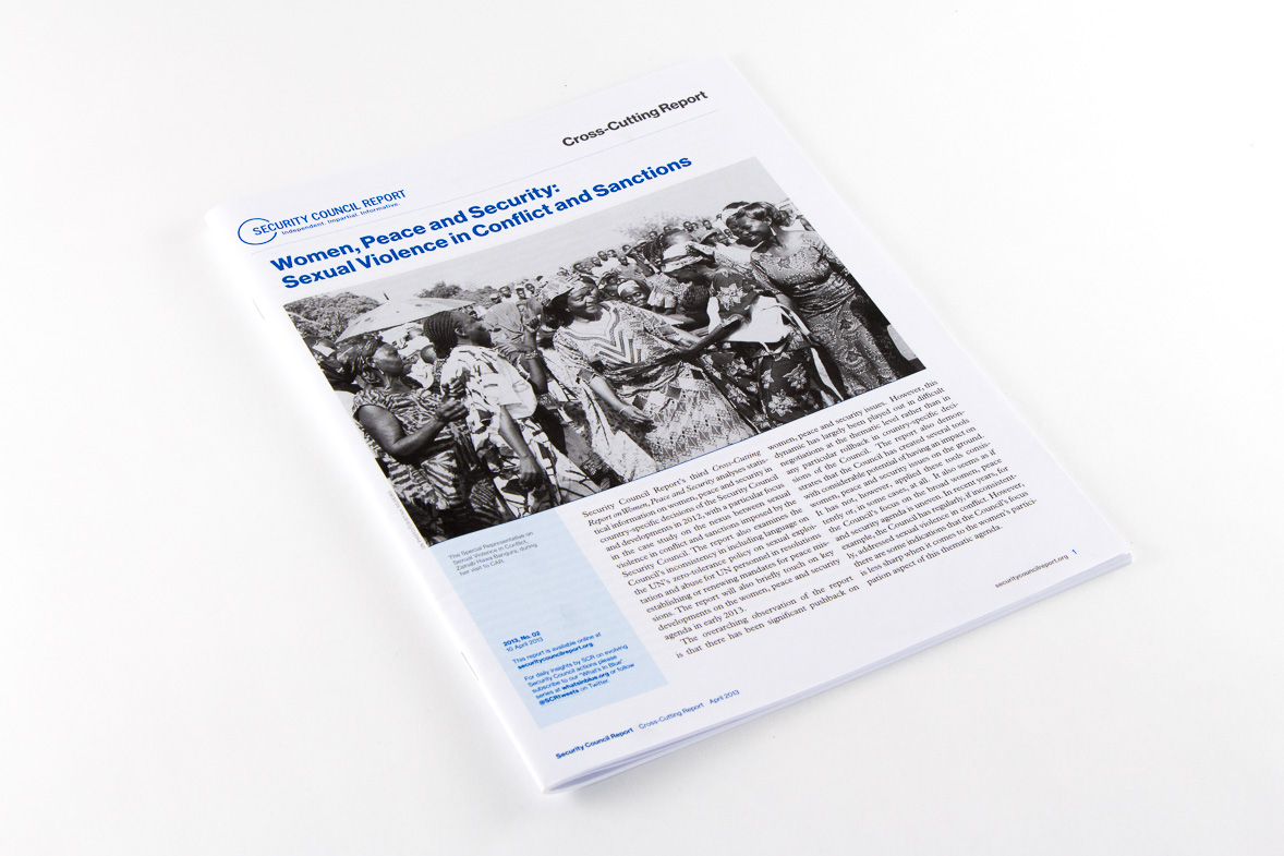 Security Council Report Cross Cutting Report