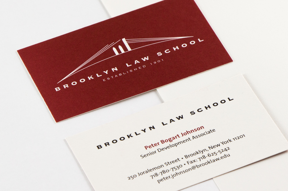 Point Five Brooklyn Law School Identity