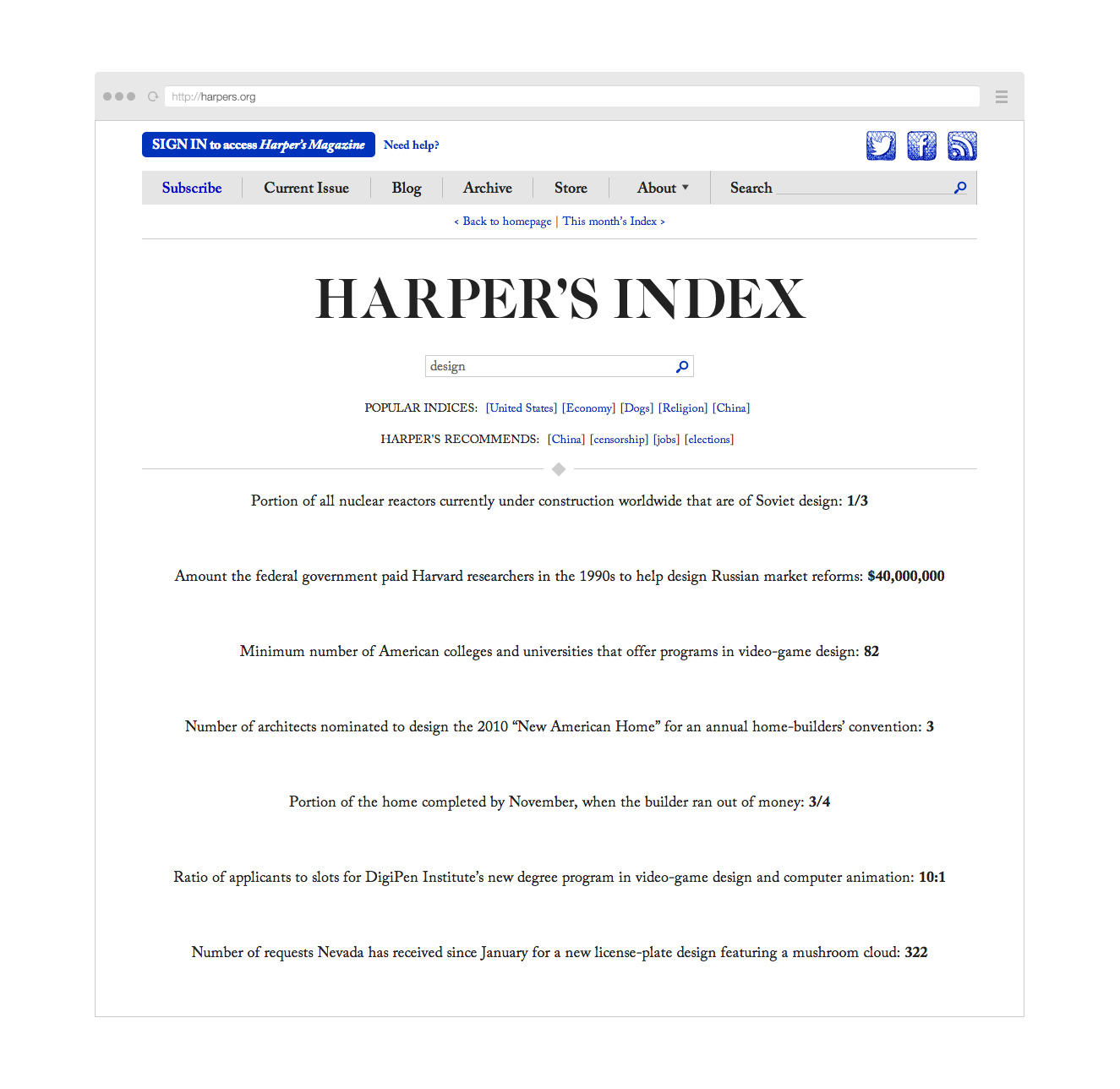 Point Five Harpers website