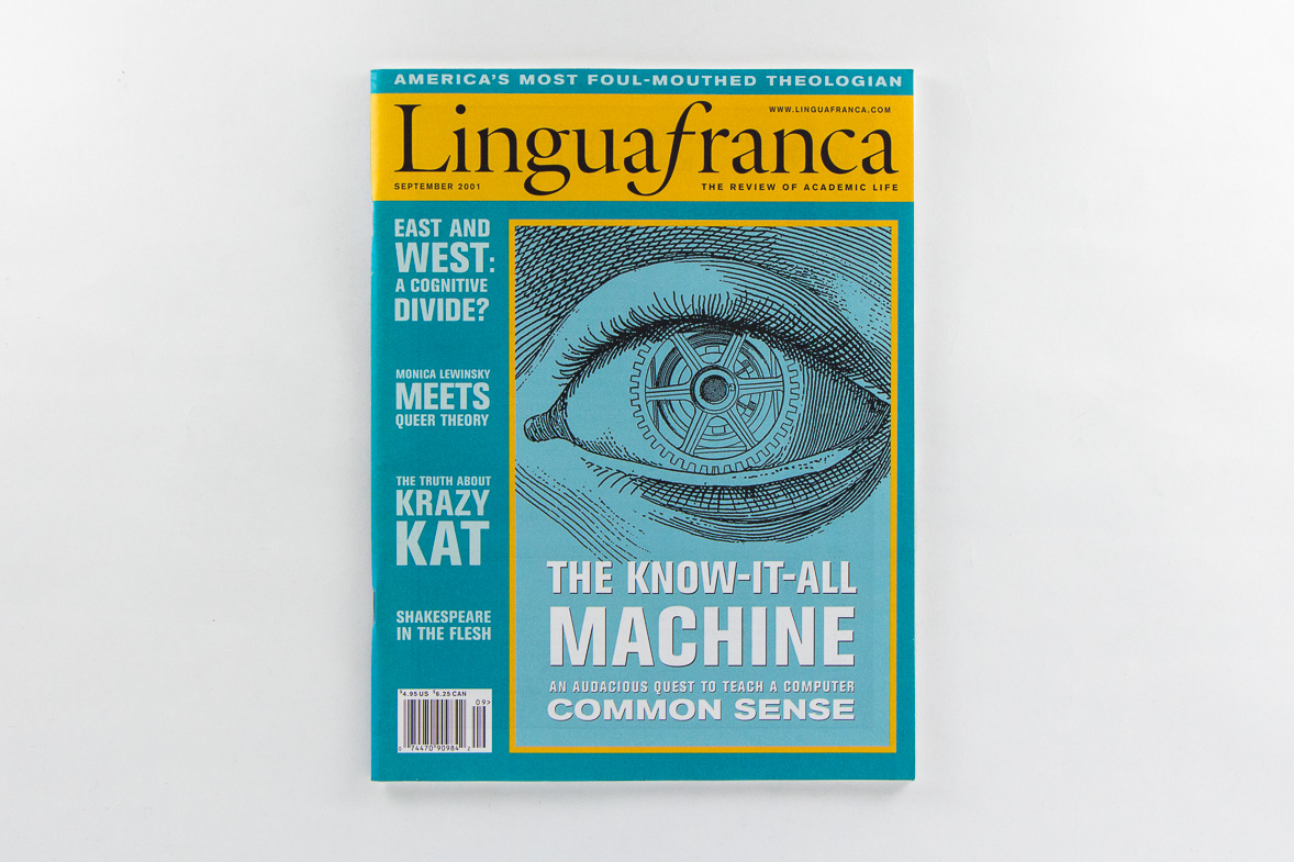 Point Five Lingua franca magazine cover