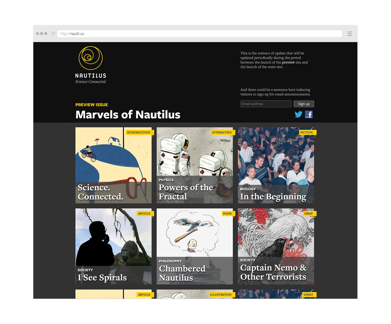 Point Five Nautilus website