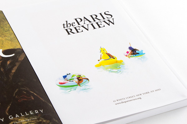 Point Five The Paris Review spread