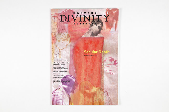 Harvard Divinity Bulletin, Summer/Autumn 2016, illustration by Vivienne Flesher