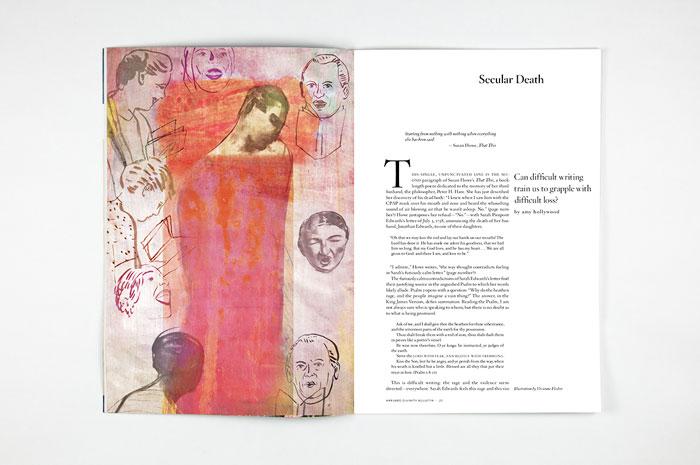 Harvard Divinity Bulletin, Summer/Autumn 2016, illustration by Vivienne Flesher